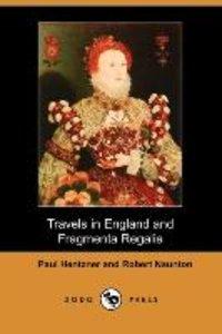 TRAVELS IN ENGLAND & FRAGMENTA