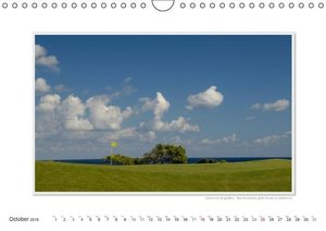 Emotional Moment: Golf. UK-Version (Wall Calendar 2015 DIN A4 La