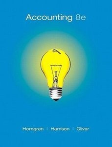 Accounting: Chapters 1-14
