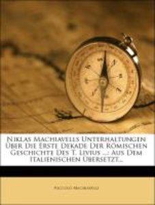 Niklas Machiavells Unterhaltungen Über die Erste Dekade der Römi