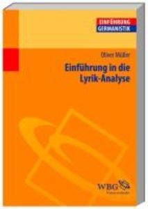 Einführung in die Lyrik-Analyse