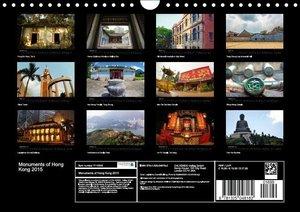 Monuments of Hong Kong 2015 (Wall Calendar 2015 DIN A4 Landscape