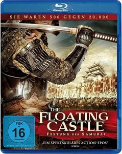 The Floating Castle-Festung der Samurai-Blu-ray