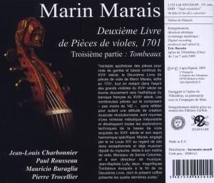 Deuxieme Livre De Pieces De Violes: Tombeaux