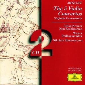 Violinkonzerte 1-5 (GA)/Sinfonia Concertante Kv364