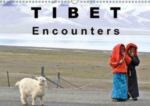 Tibet Encounters (Wall Calendar 2015 DIN A3 Landscape)