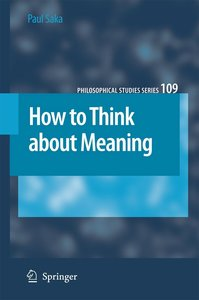 How to Think about Meaning