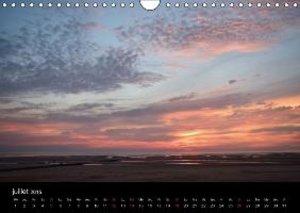 Crépuscules sur la plage (Calendrier mural 2015 DIN A4 horizonta