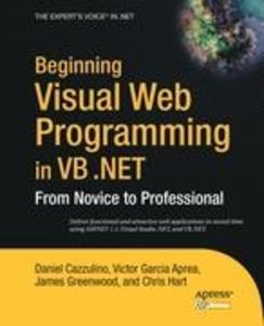 Beginning Visual Web Programming in VB .NET