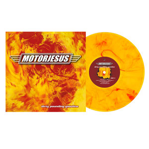 Dirty Pounding Gasoline (Lim.Marbled Flames Vinyl
