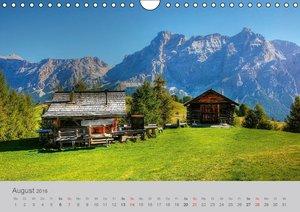 Südtirol - Gröden und Alta Badia (Wandkalender 2016 DIN A4 quer)