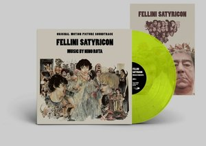 Fellini Satyricon Soundtrack (Col.Vinyl)