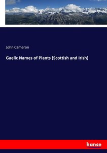 Gaelic Names of Plants (Scottish and Irish)