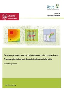 Ectoine production by halotolerant microorganisms - Process opti