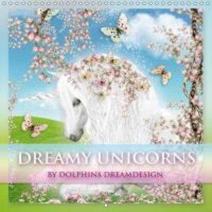 Dreamy Unicorns (Wall Calendar 2015 300 × 300 mm Square)