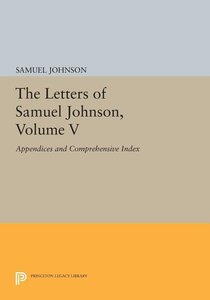 The Letters of Samuel Johnson V5