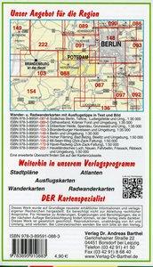 Potsdamer Havelseen, Blütenstadt Werder und Umgebung 1 : 35 000.
