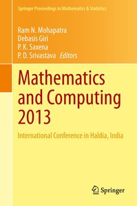 Mathematics and Computing 2013