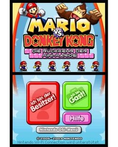 Mario and Donkey Kong: Minis on the Move PLUS Mario vs. Donkey K