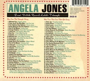 Angela Jones-Great British Record Labels:Triumph