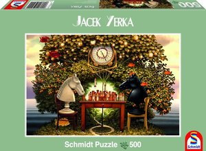 Schmidt Spiele 59511 - Schachpartie, Puzzle, 500 Teile