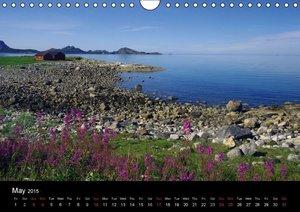 Kystriksveien and Trondheim (Wall Calendar 2015 DIN A4 Landscape