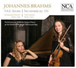 F.A.E. Sonata / Two Sonatas Op. 120