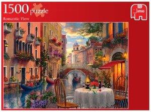 Romantische Szenerie. Puzzle 1500 Teile