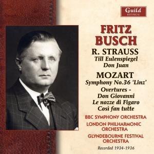 Busch Dirigiert Strauss/Mozart