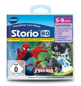 Vtech 80-273004 CS.Storio MAX Der ultimative Spiderman