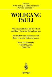 Wissenschaftlicher Briefwechsel Bd. 4/ Teil 3 mit Bohr, Einstein