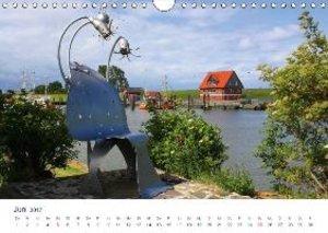 Kunst in Butjadingen 2017 (Wandkalender 2017 DIN A4 quer)