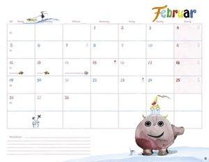 Helme Heine Monatsplaner - Kalender 2018