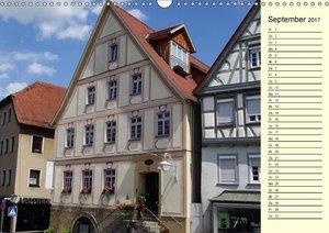 Unterwegs in Backnang (Wandkalender 2017 DIN A3 quer)