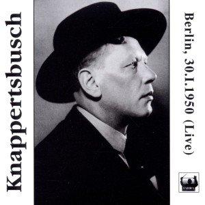 Knappertsbusch in Berlin am 30.1.1950
