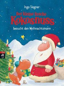 Siegner, I: kl. Drache Kokosnuss besucht den Weihnachtsmann