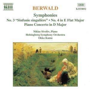 Sinfonie 3+4/Klavierkonzert