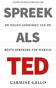Spreek als TED / druk 1