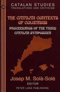 The Catalan Contexts of Columbus