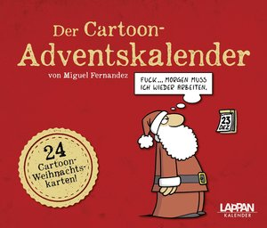 Der Cartoon-Adventskalender