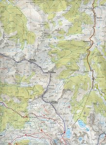 Le Grigne. Resegone di Lecco e Legnone. Carta escursionistica 1