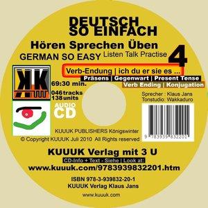 Deutsch So Einfach - Hören Sprechen Üben 4 - German So Easy - Ta