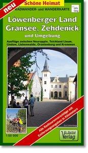 Löwenberger Land, Gransee, Zehdenick und Umgebung. Radwander- un