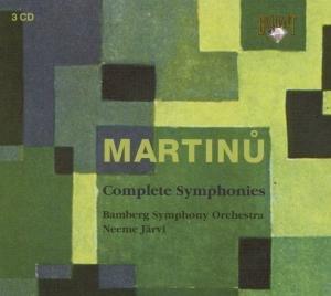 Martinu: Sämtliche Sinfonien 1-6 (GA)