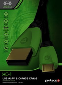 XC1 USB Play and Charge Cable, USB-Ladekabel für XBOX ONE