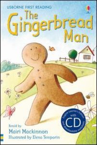 The Gingerbread Man. Book + CD