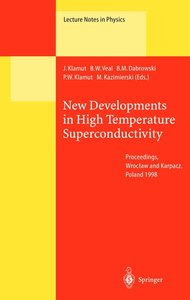 New Developments in High Temperature Superconductivity