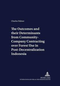 The Outcomes and their Determinants from Community-Company Contr