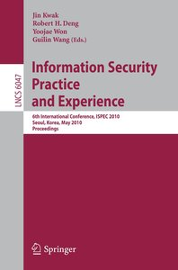 Information Security, Practice and Experience
