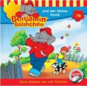 Benjamin Blümchen 078 und der kleine Hund. CD
